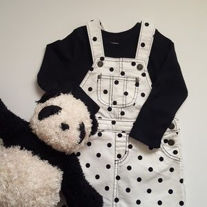 Carter's Mini Blues Overall Set